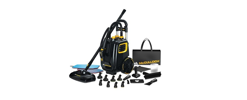 MC1385 Deluxe Canister Steam Cleaner - McCulloch Steam Cleaners