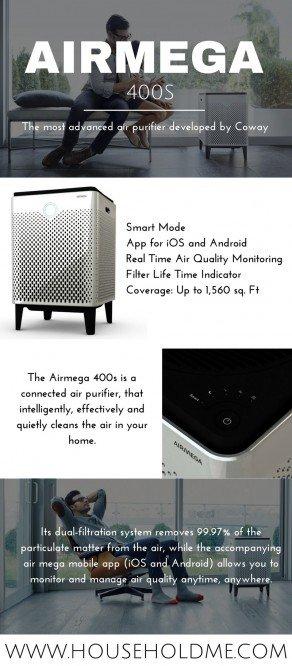 Airmega 400s Infographic