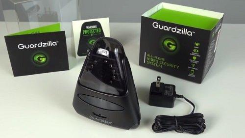 Guardzilla Gz502b All In One Video Security System Black