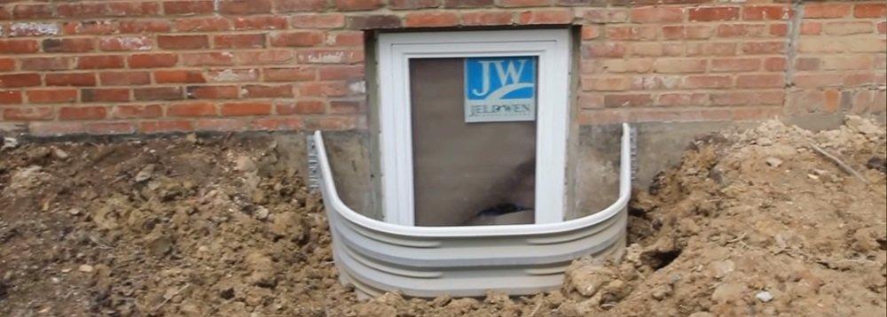 Basement Window Wells Window Well Styles And Cover