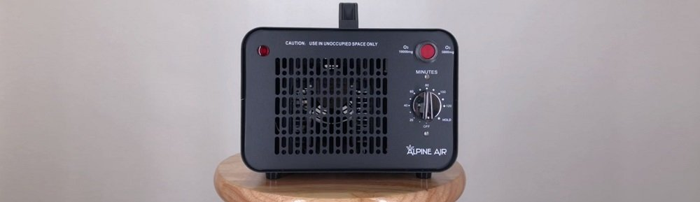 Alpine Air Commercial Ozone Generator – 10,000 mg/h   Professional O3 Air Purifier, Ozonator and Ionizer