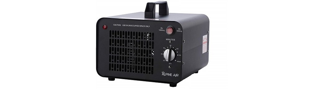 Alpine Air Professional O3 Air Purifier, Ozonator and Ionizer