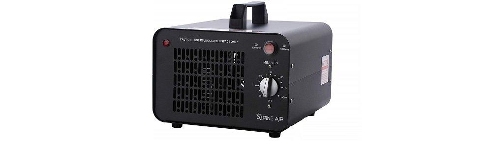 Alpine Air Professional O3 Air Purifier, Ozonator and Ionizer