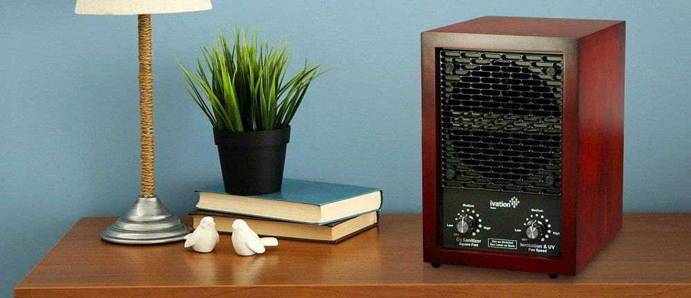 Ivation 5-in-1 HEPA Air Purifier/Ozone Generator/Ionizer
