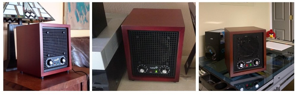 Ivation 2-in-1 Ozone Generator and Ionizer (300B)