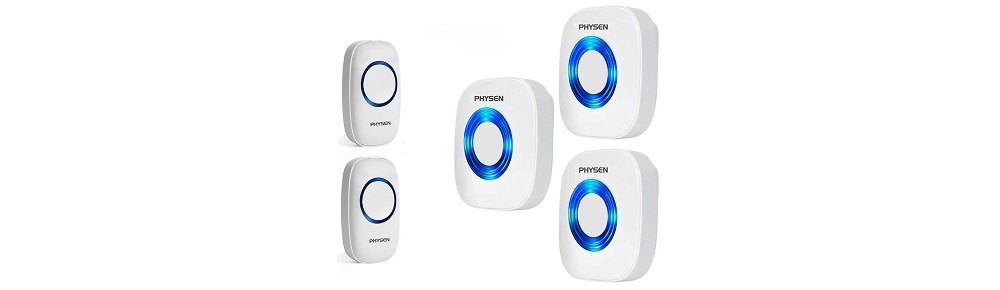 Physen Model CW Waterproof Wireless Doorbell kit Review