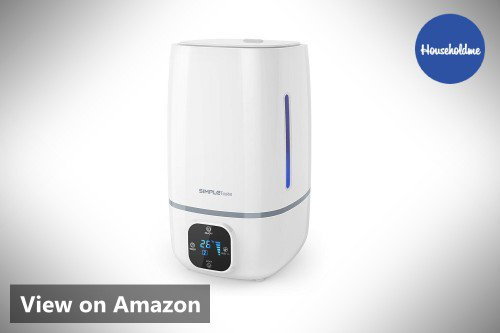 SimpleTaste 4L (1.06 Gallon) Ultrasonic Cool Mist Humidifier