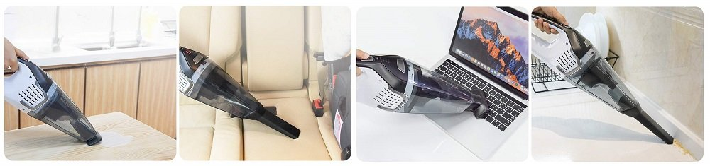 Homasy Portable Handheld Vacuum Cleaner