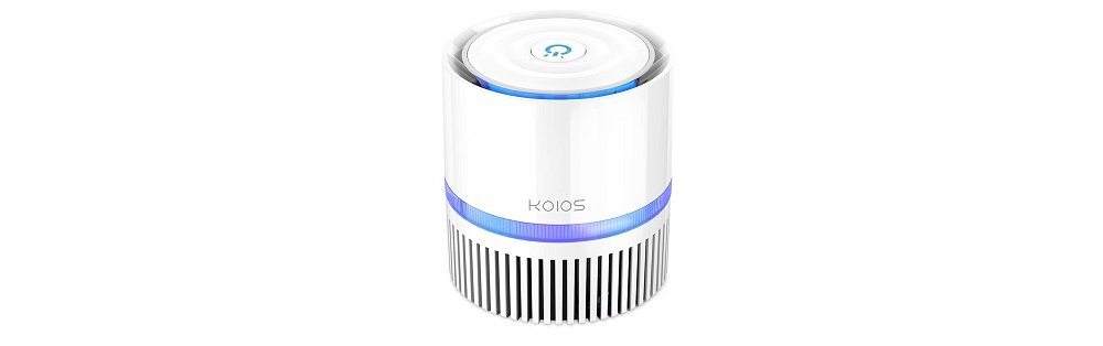 KOIOS Air Purifier, Indoor Air Cleaner with 3-in-1 True HEPA Filter