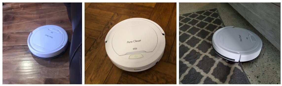 Pure Clean PUCRC25 Automatic Robot Vacuum Cleaner Review