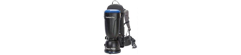 Powr-Flite BP6P Comfort Pro Premium Backpack Vacuum, 6 quart Capacity