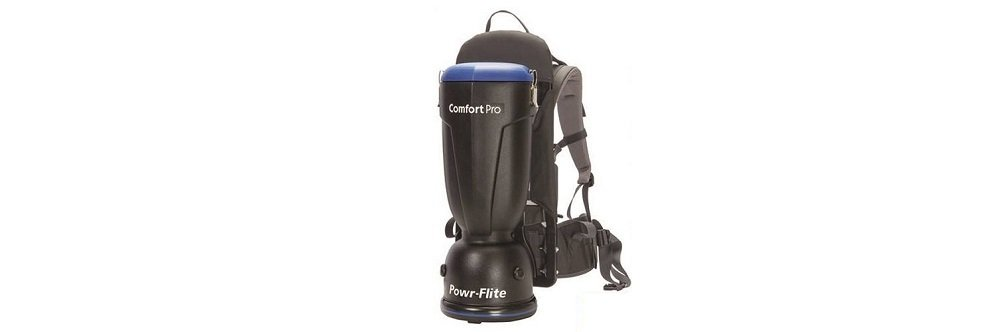 Powr-Flite BP6S Comfort Pro Backpack Vacuum