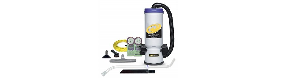 ProTeam Backpack Vacuums, Super CoachVac Commercial Backpack Vacuum