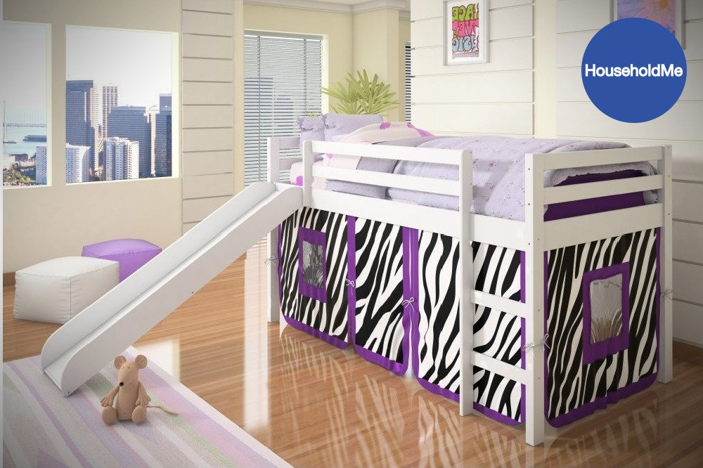 Donco Kids Twin Loft Tent Bed & Best Loft Beds for Kids 2018: Buying Guide and Top 5