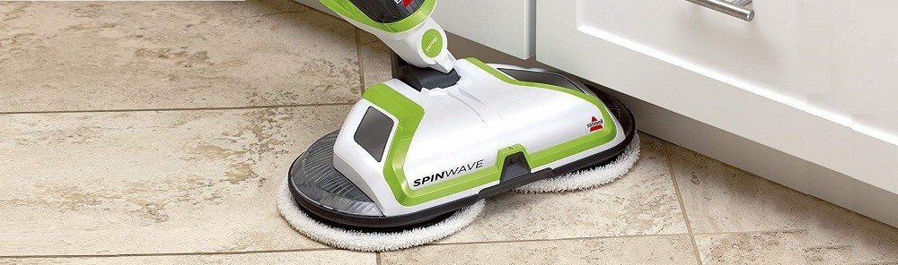 BISSELL Spinwave Powered Hardwood Floor Mop and Cleaner, 2039A