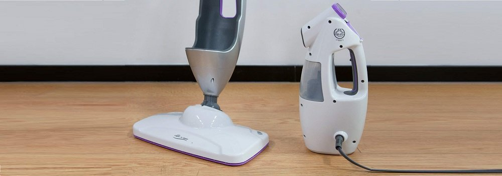 LIGHT N EASY Steam Mop Floor Steamer Cleaner