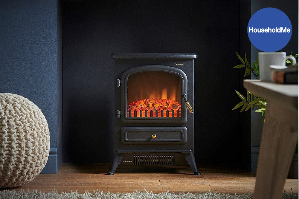 VonHaus Electric Fireplace Stove Heater Review