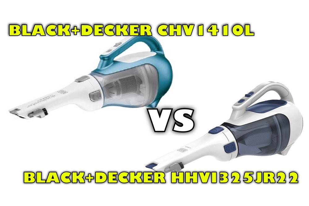 Black Decker Chv1410l Vs Hhvi325jr22 Handheld Vacuum