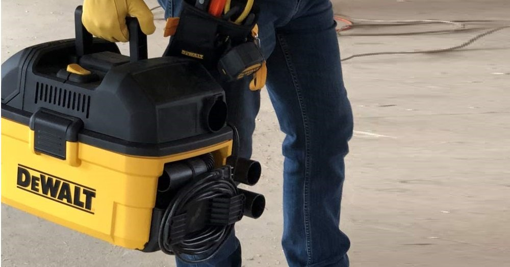 DeWALT Portable 4-Gallon WetDry Vac Review