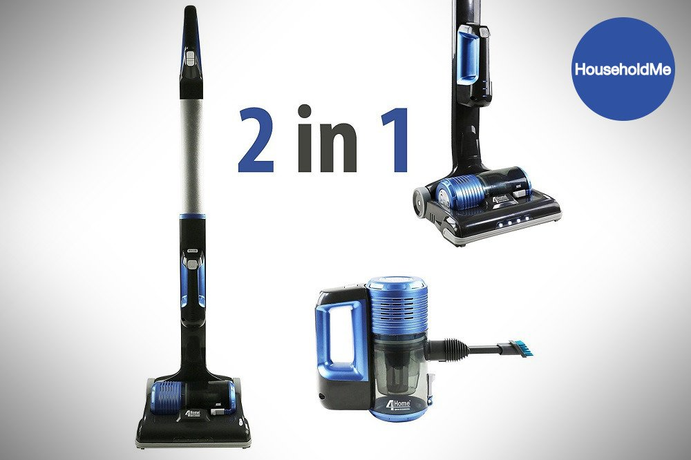 qualtex 2 in 1 cordless upright vacuum cleaner review usahtc01. Black Bedroom Furniture Sets. Home Design Ideas