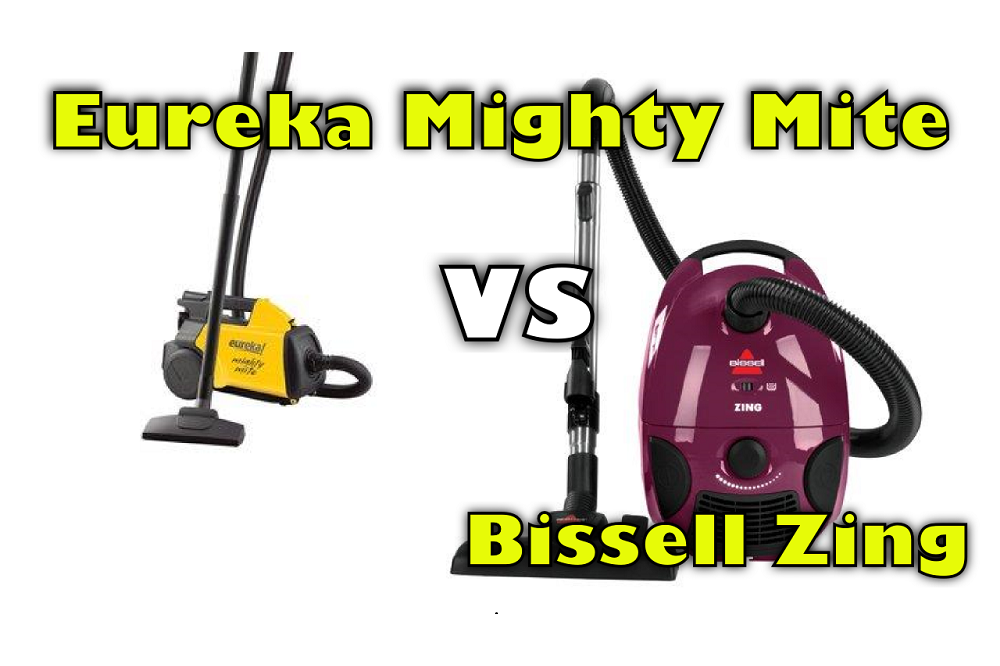 Eureka Mighty Mite Vs Bissell Zing Canister Vacuum Comparison