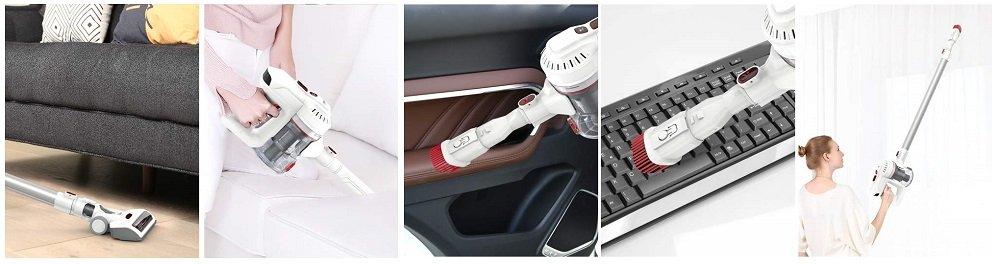 Dibea E19 Lightweight Cordless Vacuum Cleaner Review