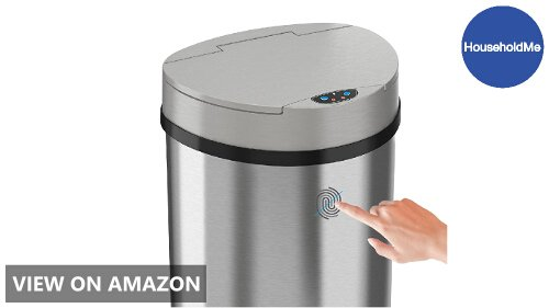 iTouchless 13 Gallon Automatic Touchless Kitchen Trash Can ...