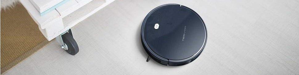 X500 Robotic Vacuum Brand New Tesvor Robot Vacuum Cleaner 100mins running time