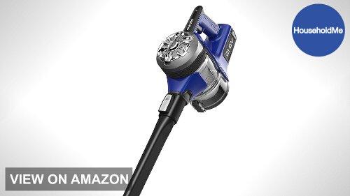 Eureka NEC122A Powerplush Cordless 2-in-1 Lightweight Stick Handheld Vacuum