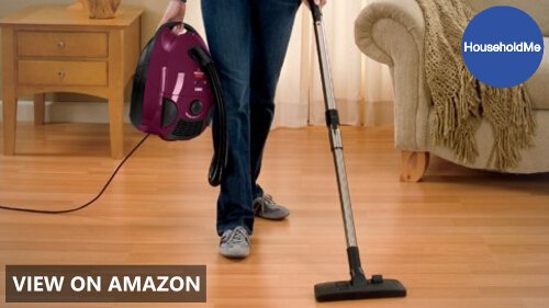 Bissell Zing Bagged Canister Vacuum, Maroon, 4122