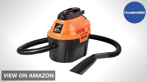 Armor All 2.5 Gallon, 2 Peak HP, Utility Wet/Dry Vacuum Review (AA255 Model)