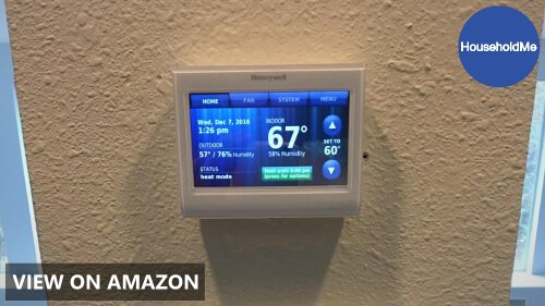 🥇 Honeywell TH9320WF5003 WiFi 9000 Color Touchscreen Thermostat Review