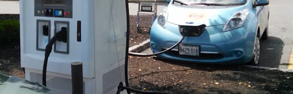 Level 3 Electric Vehicle Charger