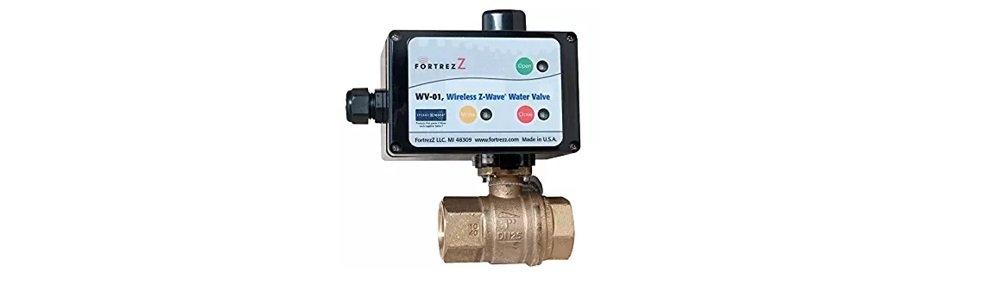 FortrezZ Wireless Z-Wave Water Valve