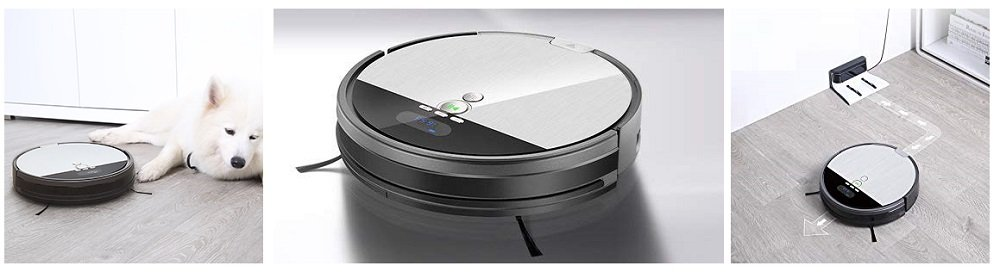 ILIFE V8s Robot Vacuum Cleaner and Mop Combo