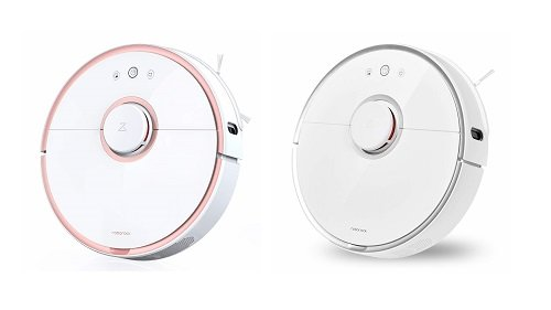 Roborock S5 Xiaomi pink and white