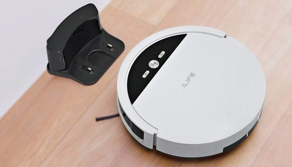 Review The Ilife Robotic Vacuum Cleaner