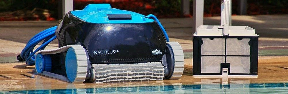 Robotic Pool Cleaner with Swivel Cord