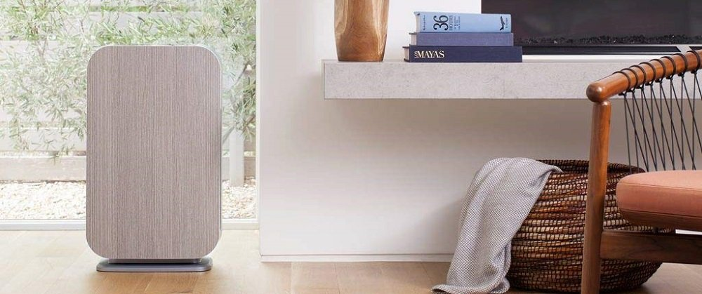 Alen BreatheSmart 45i HEPA Air Purifier with Pure Filter for Allergies and Dust in White