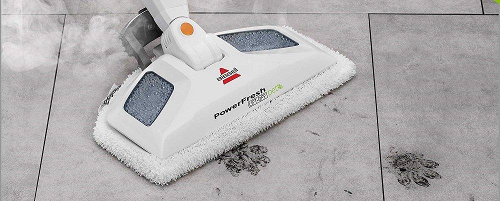 Bissell PowerFresh Pet Lift-Off Steam Mop (1544A)