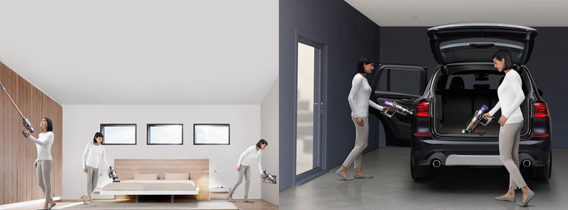 dyson v8 vs v10 vs v11 what 39 s the difference. Black Bedroom Furniture Sets. Home Design Ideas