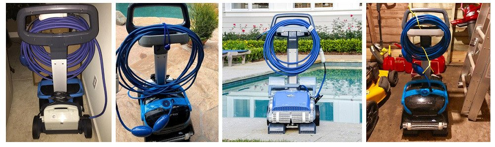 Dolphin Robotic Pool Cleaner Caddy