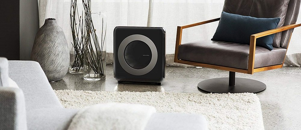 Black Air Purifier from Coway
