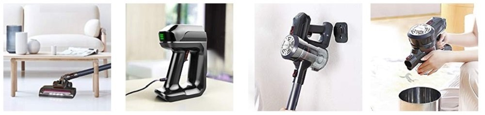 Dibea D18Pro vs. Dibea D18 Stick Vacuum Comparison