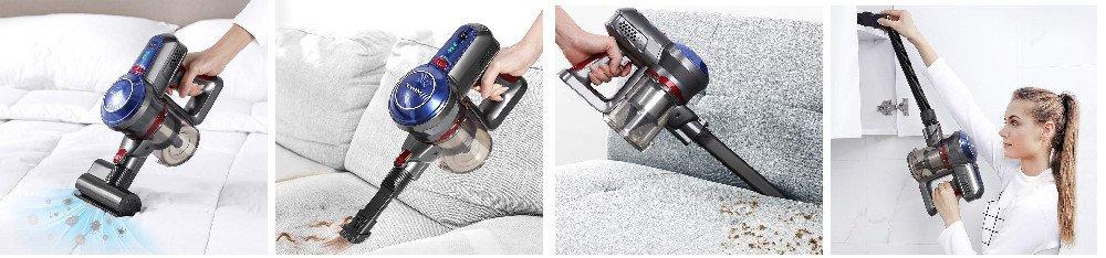 BEAUDENS B6 Cordless Stick Vacuum Review