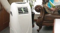 Global Air 10,000 BTU Portable Air Conditioner Cooling Fan