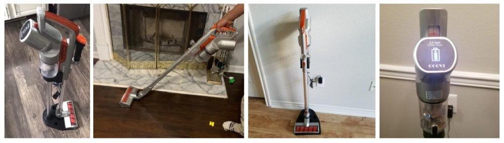 MOOSOO vs. GOOVI Stick Vacuum