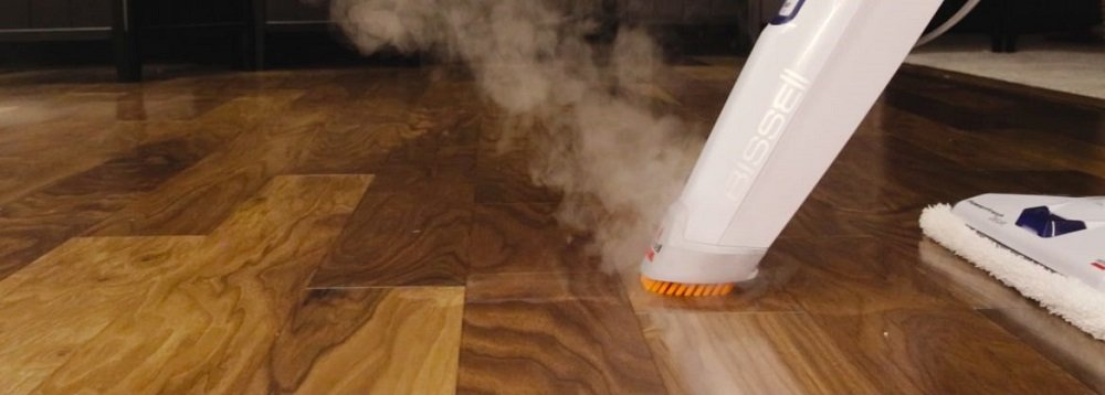 How do you use a Bissell steam mop?