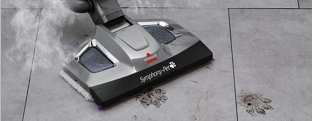 bissell steam mop solution