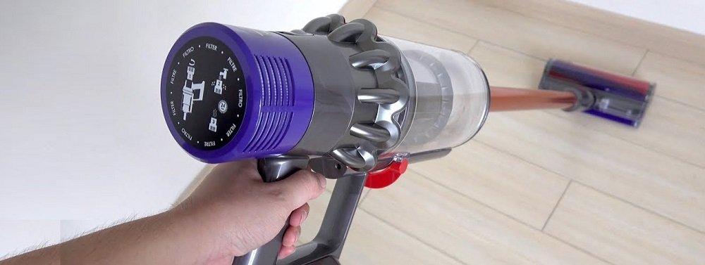Dyson Cordless Stick Vacuum Cleaner Test